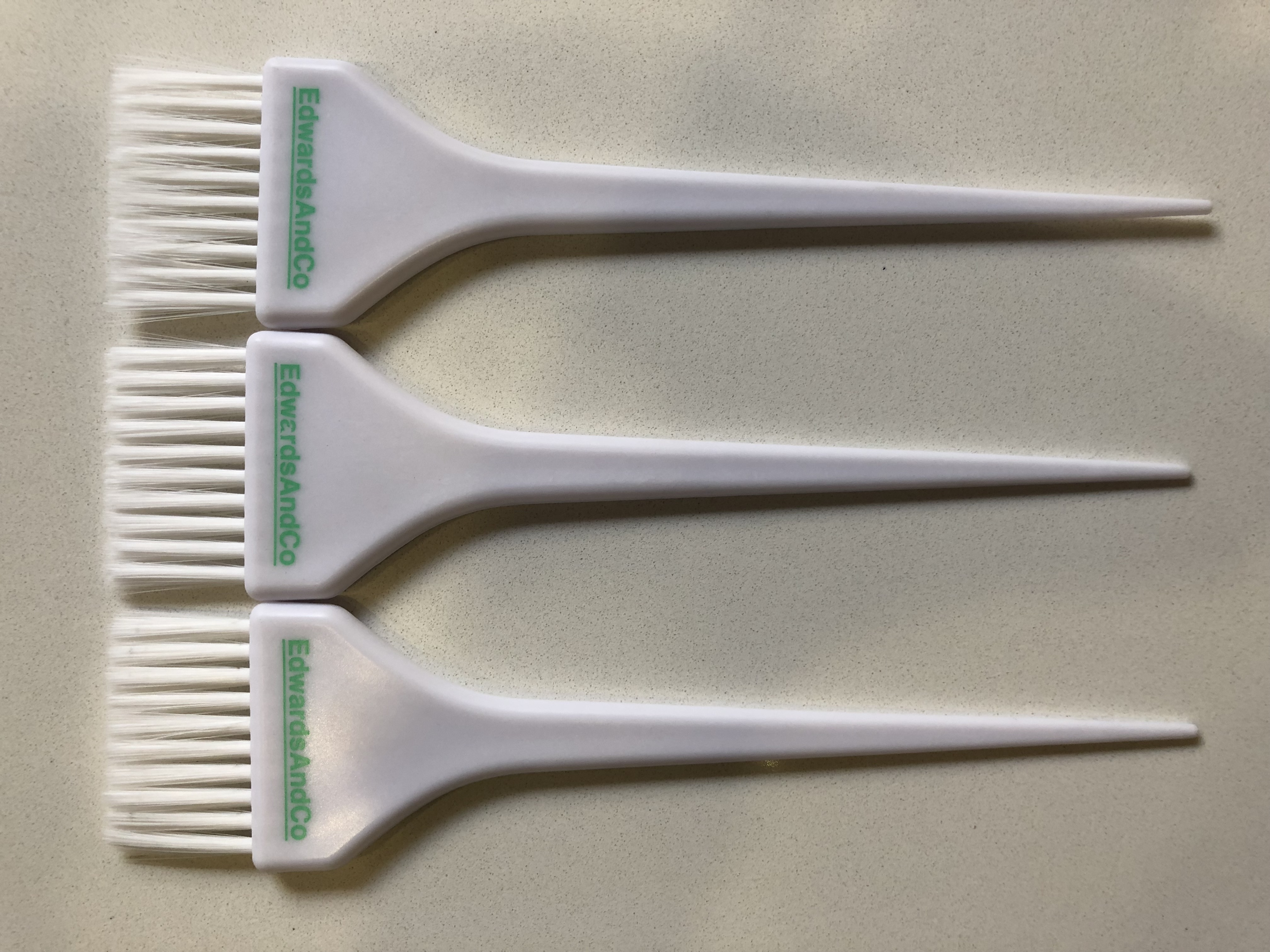 Edwards And Co. Large white brush (3 pack)